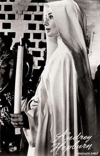 Audrey Hepburn in The Nun's Story (1959)