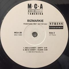 BIZ MARKIE:IT'S DA BIZMARKIE(LABEL SIDE-B)