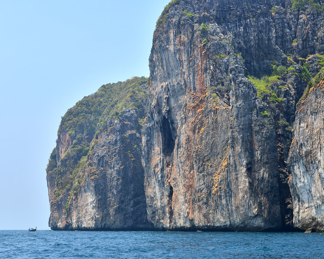Acantilados de las islas Phi Phi