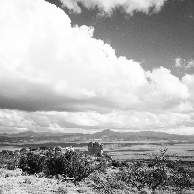 Abiquiu, New Mexico, Chimney Rock, June 10, 2015.