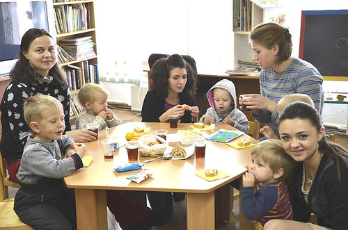 Залишити дітей в бібліотеці
