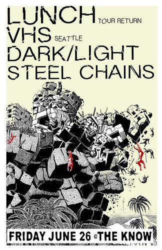 6/26/15 Lunch/VHS/DarkLight/SteelChains