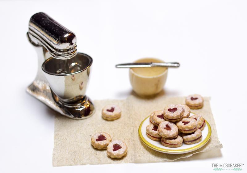 Linzer Jam Cookies
