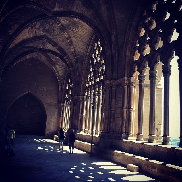 the largest cloister in gothic Europe #lleida #seuvella #gothic