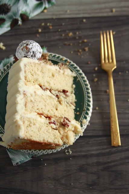 Kentucky Bourbon Bacon Cake
