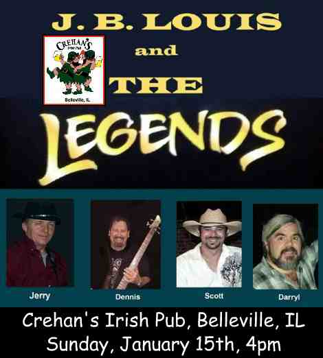 J.B. Louis and The Legends 1-15-17