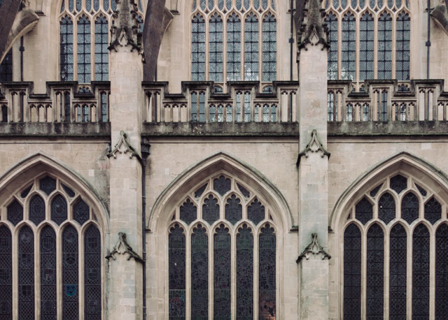 bath abbey windows