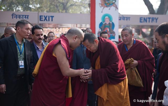20170130_法王噶瑪巴造訪第28屆寧瑪大祈願法會