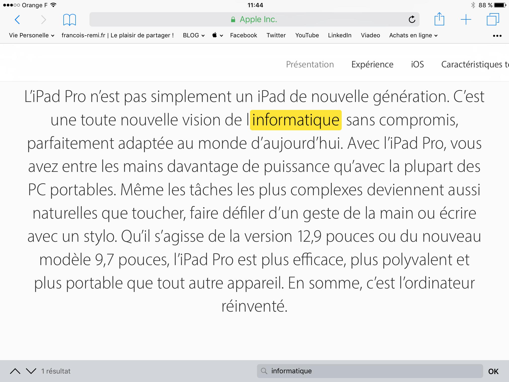 20170216 Comment rechercher un mot dans une page Internet sur iPad et iPhone 00004