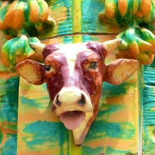 ceramic cow