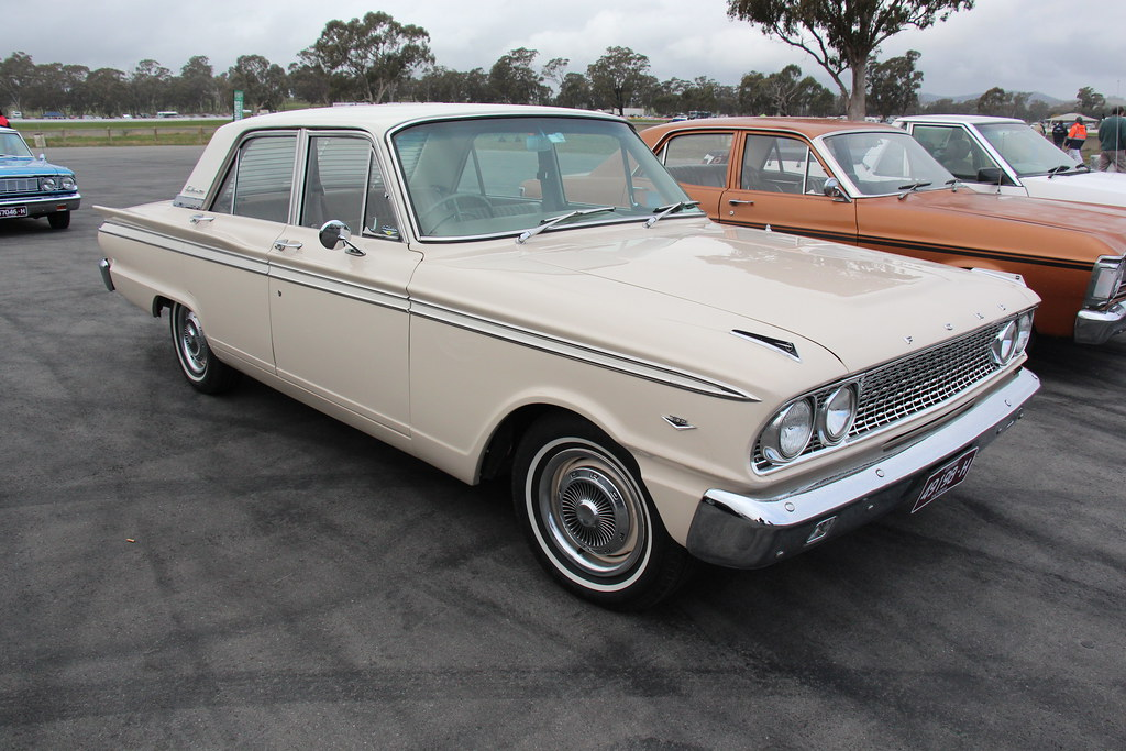 1963 Ford Fc Fairlane 500 Compact From 1962 Fords