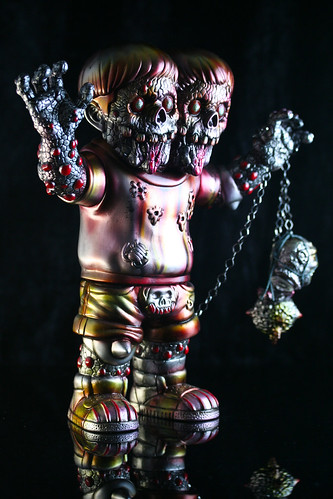 DoubleThink by Takahiro Komuo painted by MVH | by toybot studios