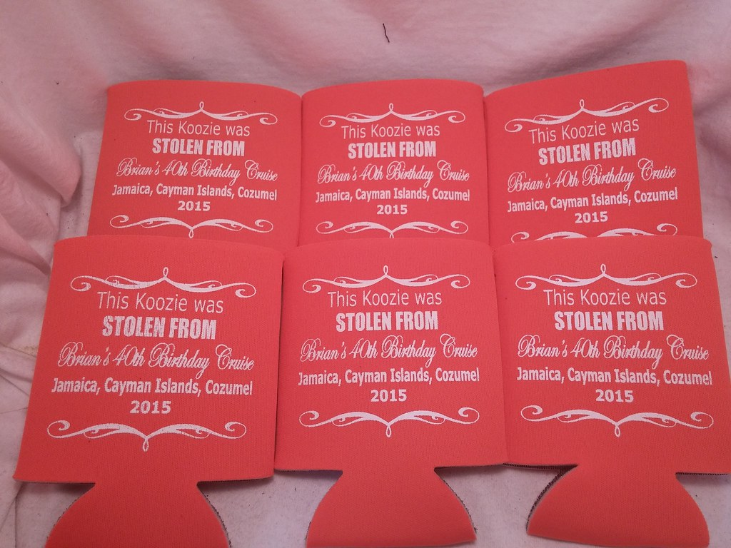 Customized Beer Can Coolers - Koozies for Wedding Receptio… | Flickr