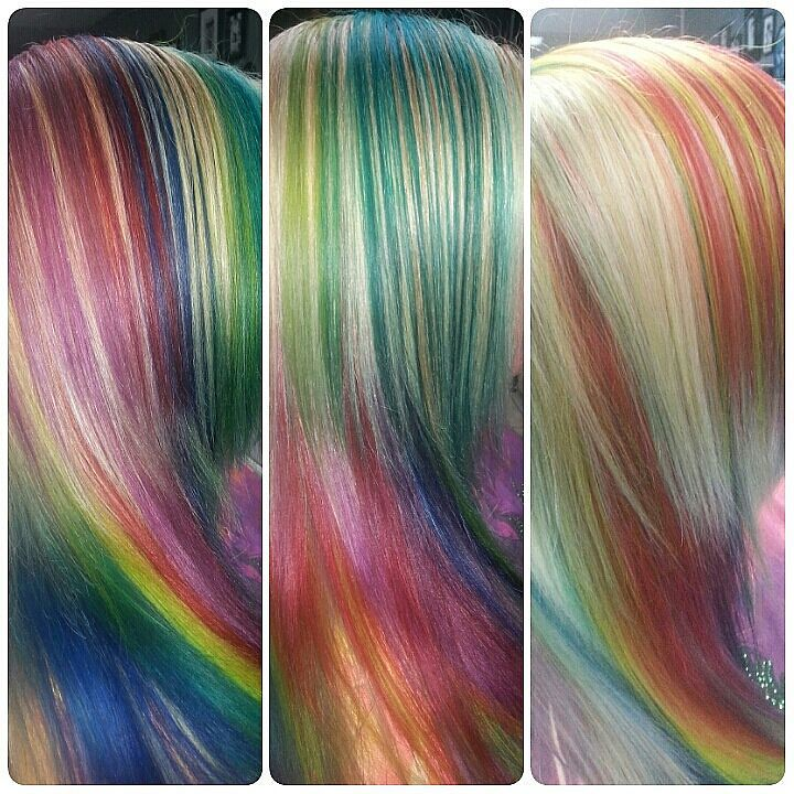 Vibrant Mystical Rainbow Custom Hair Color Vibrant Mystica Flickr