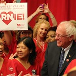 Filipino nurses rally behind Bernie Sanders during LA visit