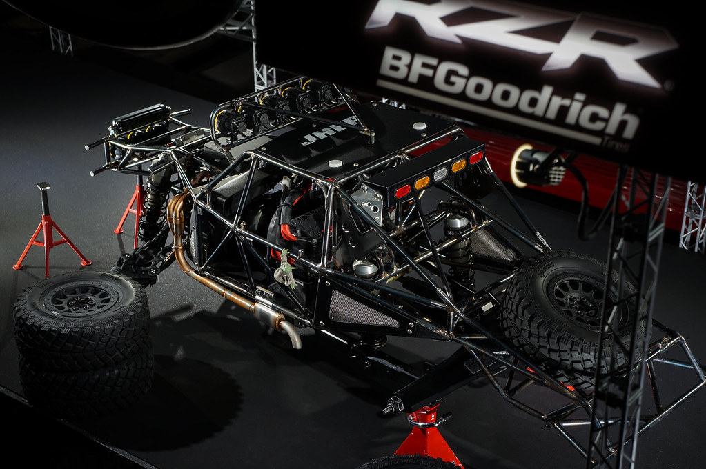10th Scale Rc Axial Yeti Trophy Truck Custom Roll Cage