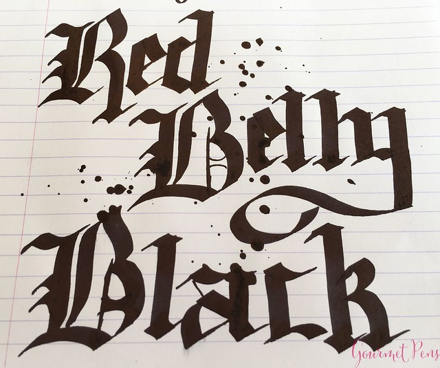 Ink Shot Review Bookbinders Red Belly Black @AndersonPens 6