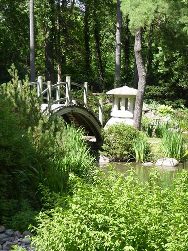 Geneva, IL, Fabyan Forest Preserve, Japanese Garden, Bridg