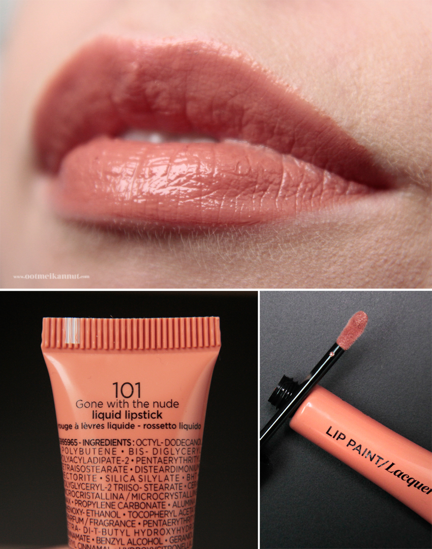 Loreal Lip Paint Gone with the nude