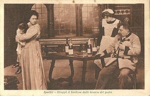 Ermete Zacconi in Spettri (1918)