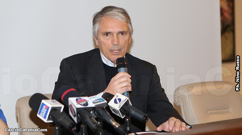 Davide Franco, presidente del Catania