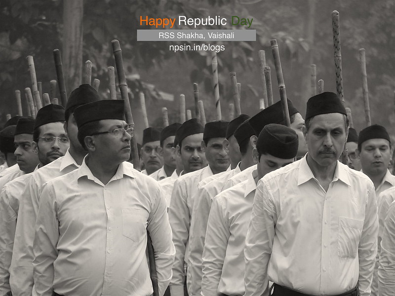 Happy Republic Day with RSS Shakha Path Sanchalan!