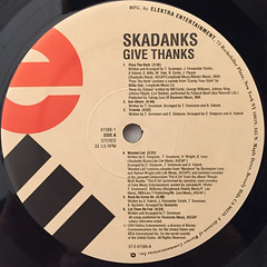SKADNKS:GIVE THANKS(LABEL SIDE-A)
