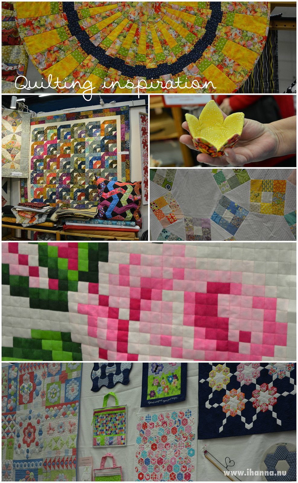 Quilting inspiration on the walls blogged by @ihanna #syfestivalen