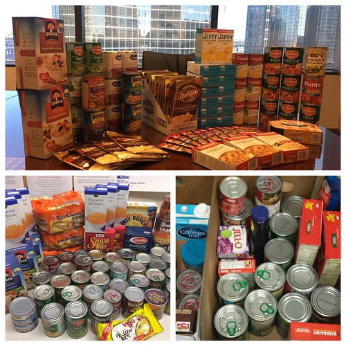 Food Drive Collection_CSLCPA Cares Holiday 2016
