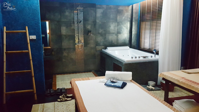 zira spa private room blue