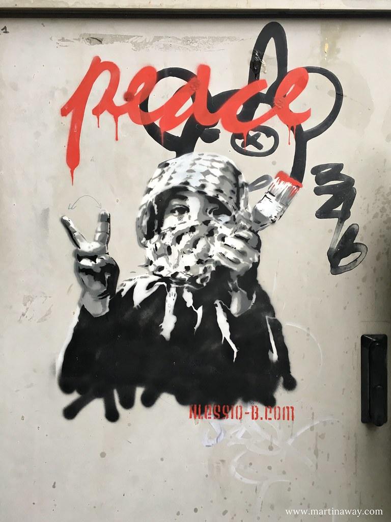 Street art by Alessio-B