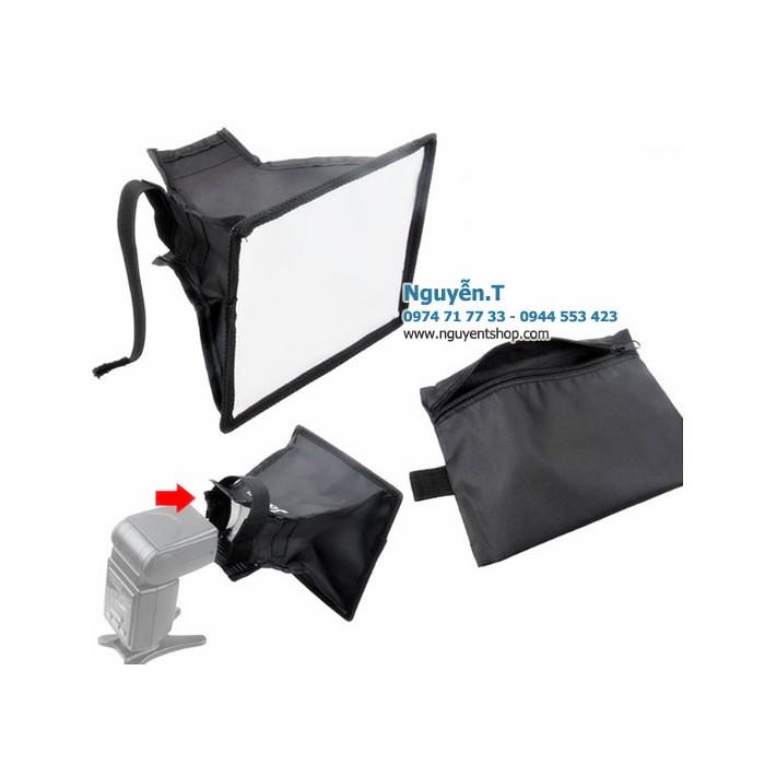 Softbox tản sáng đèn Flash 15x17cm