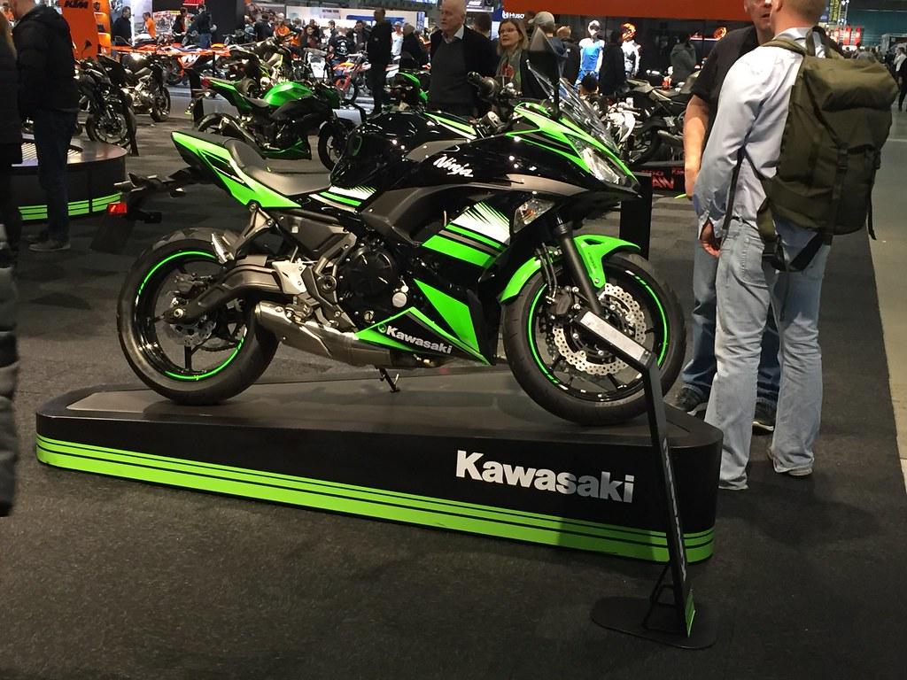 MC-mässan 2017 - kanske dags för en ny leksak - Kawasaki Ninja