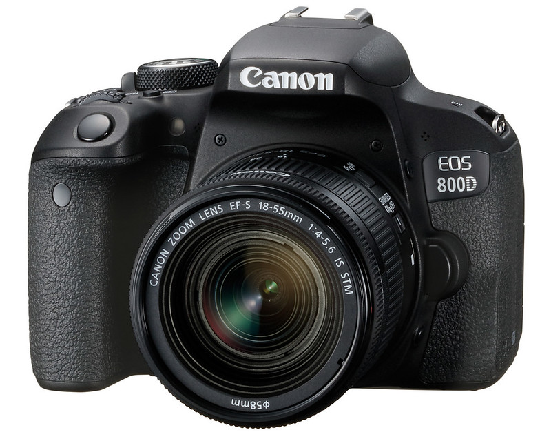 Canon EOS 800D; photo courtesy of Canon