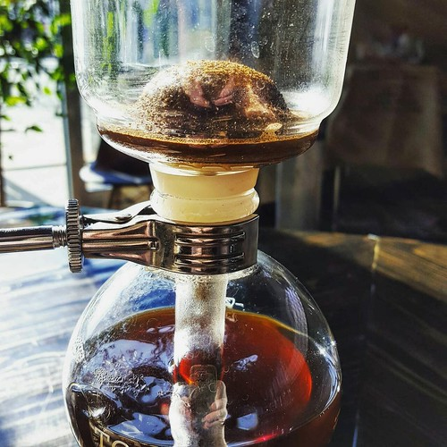 Single Origin. Seasonal. Siphon coffee.