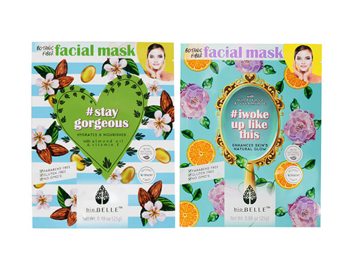 Biobelle - #StayGorgeous and #Iwokeuplikethis Sheet Masks