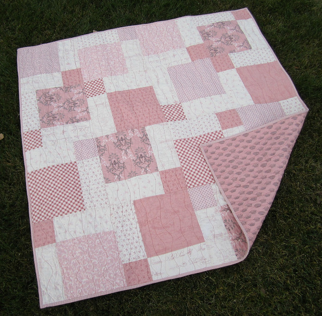 Oh lala baby Quilt