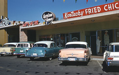 Kentuckey Fried Chicken, Reno, Nevada 1950's | by Roadsidepictures