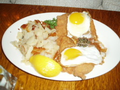 Schnitzel ala Holstein | by IndyDina with Mr. Wonderful