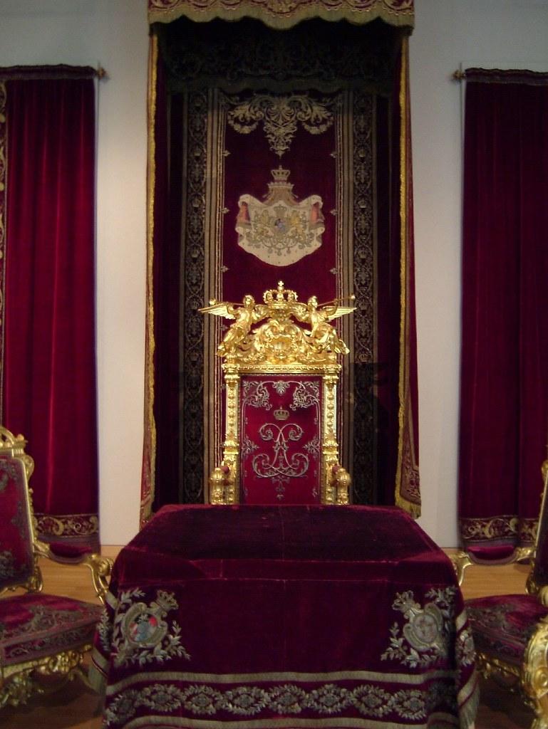 King Ludwig Ii Throne Rod Flickr