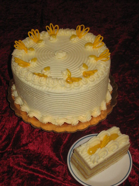 Tangy Lemon Cake