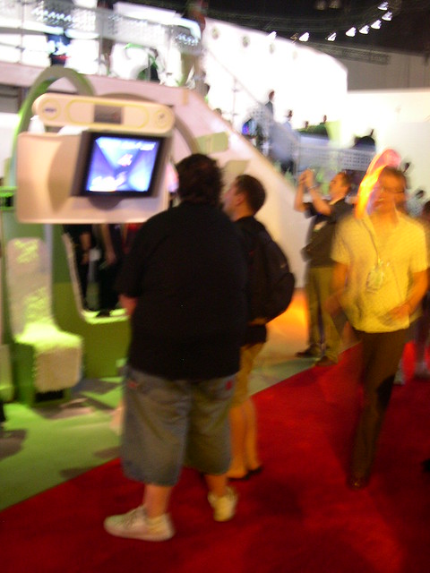 Very fat man at E3 2005 - more next year.