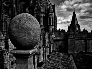 From the Torre Mocha of the Old Cathedral in Salamanca | by MaiKoh