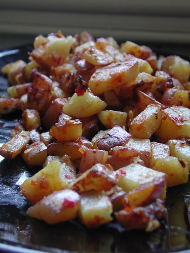 Harissa Roasted Potatoes | by britton618