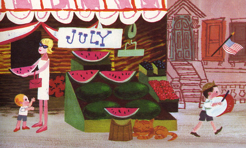 Mr. Jolly's Sidewalk Market (detail) | by Eric Sturdevant
