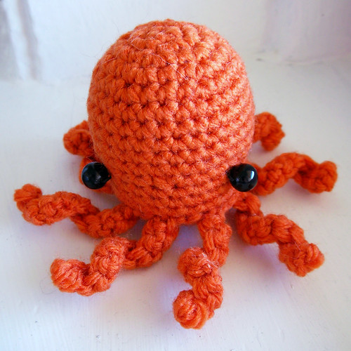Octopus My excellent girlfriend crocheted me a ...
