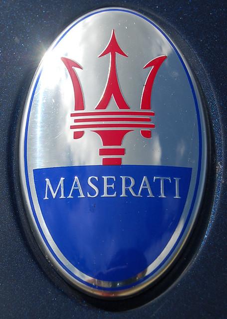 Maserati Logo | sophietica | Flickr