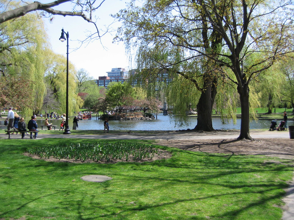 Boston Public Gardens What A Beautiful Park And Afternoon Flickr