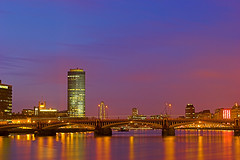 Vauxhall Bridge at Twilight | by kayodeok