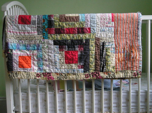 Vintage log cabin quilt | by *Yellow House*